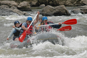 Family Friendly Rafting Asheville NC